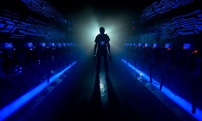 activité laser game pour un enterement de vie de jeune fille