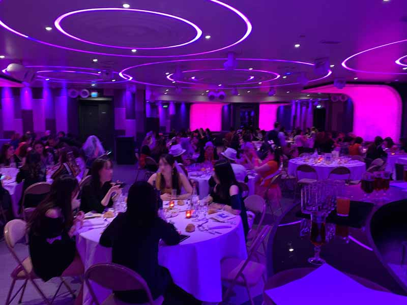 diner spectacle chippendales au restaurant du Vogue